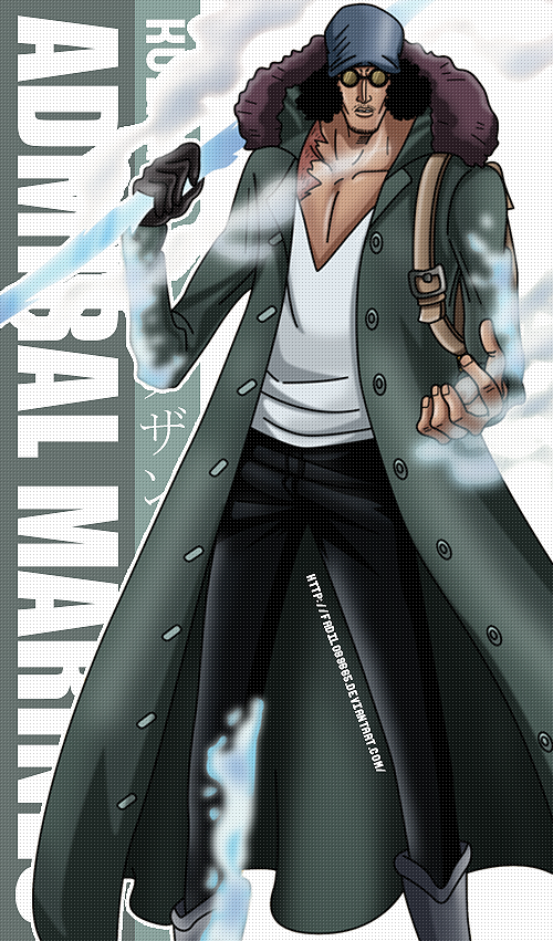 one piece wallpapers mobile admiral kuzan by fadil089665