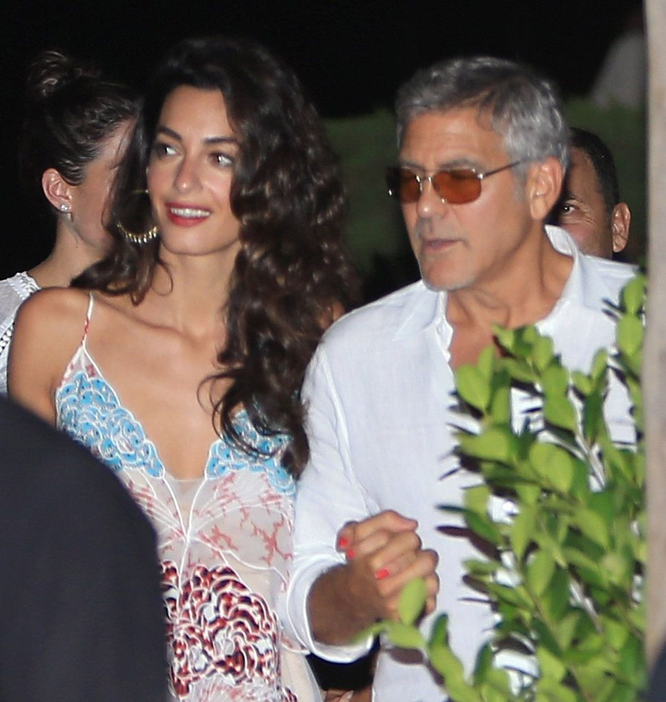 Amal And George Clooney Might Have Had The Most Gorgeous Double Date Ever Amal Clooney Love Her Style Cindy Crawford Photo