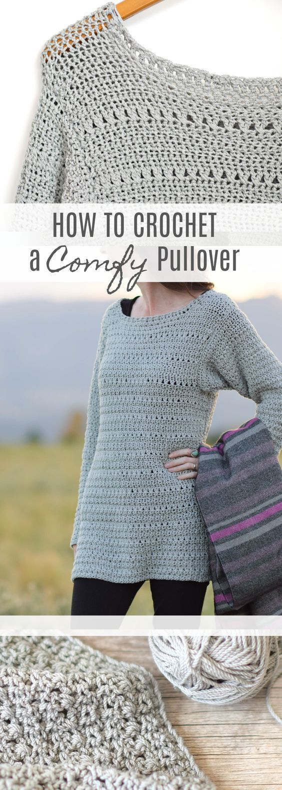 Crochet Sweater free patterns - Womens Clothing #crochetsweaterpatternwomen
