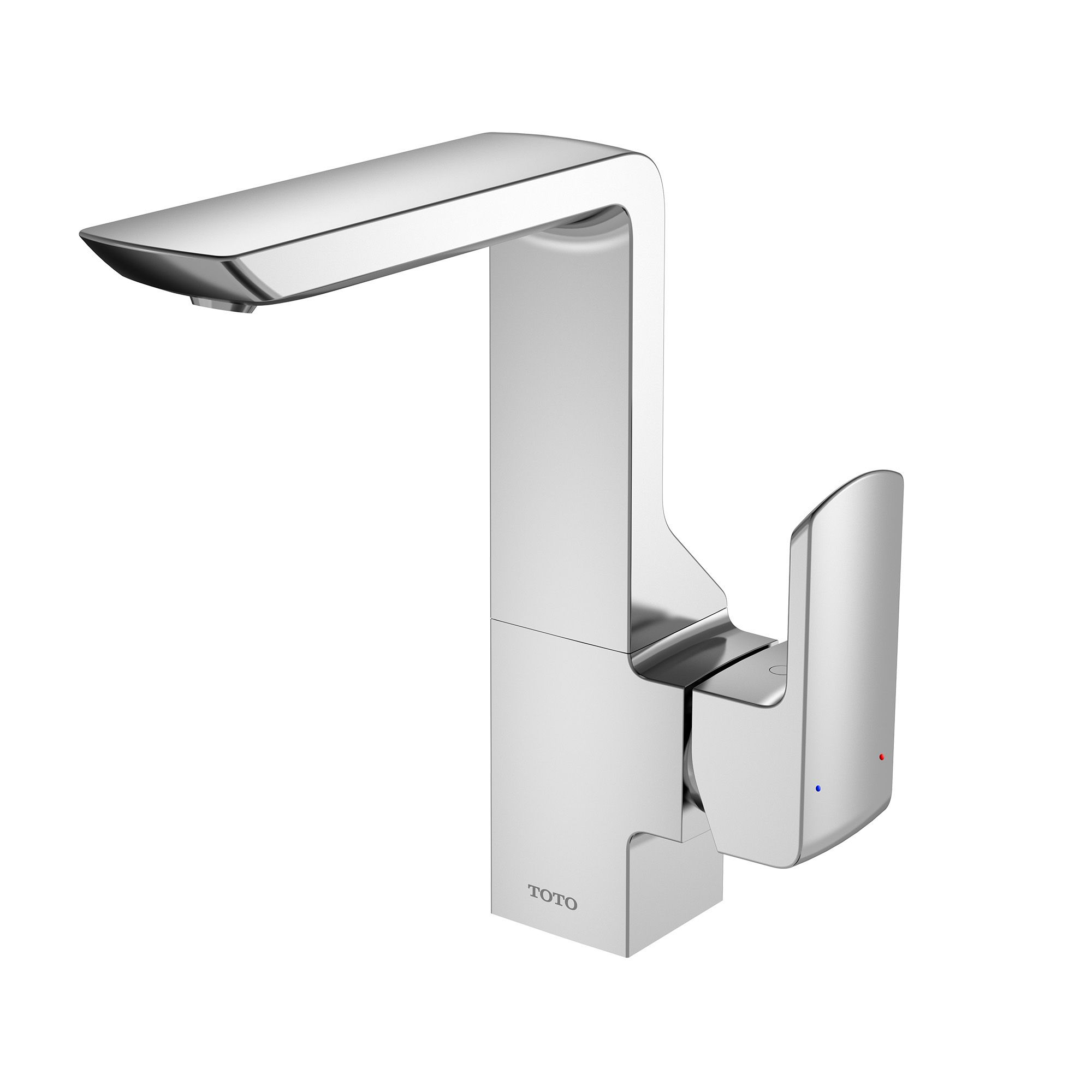Awe Inspiring Toto Gr 1 2 Gpm Single Side Handle Bathroom Sink Faucet With Beutiful Home Inspiration Semekurdistantinfo