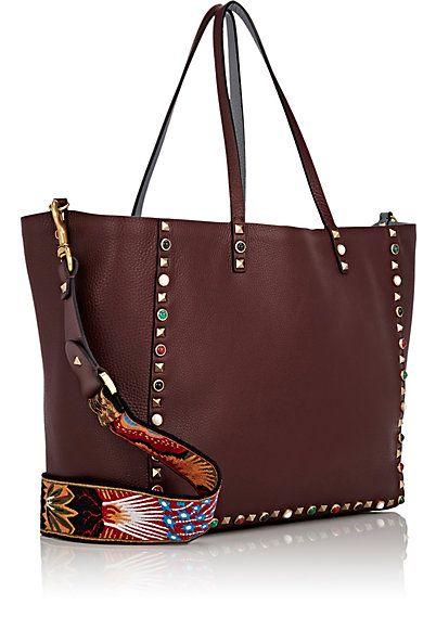 26b23e091c67 Valentino Rockstud Reversible Tote Bag - Totes - 504503001