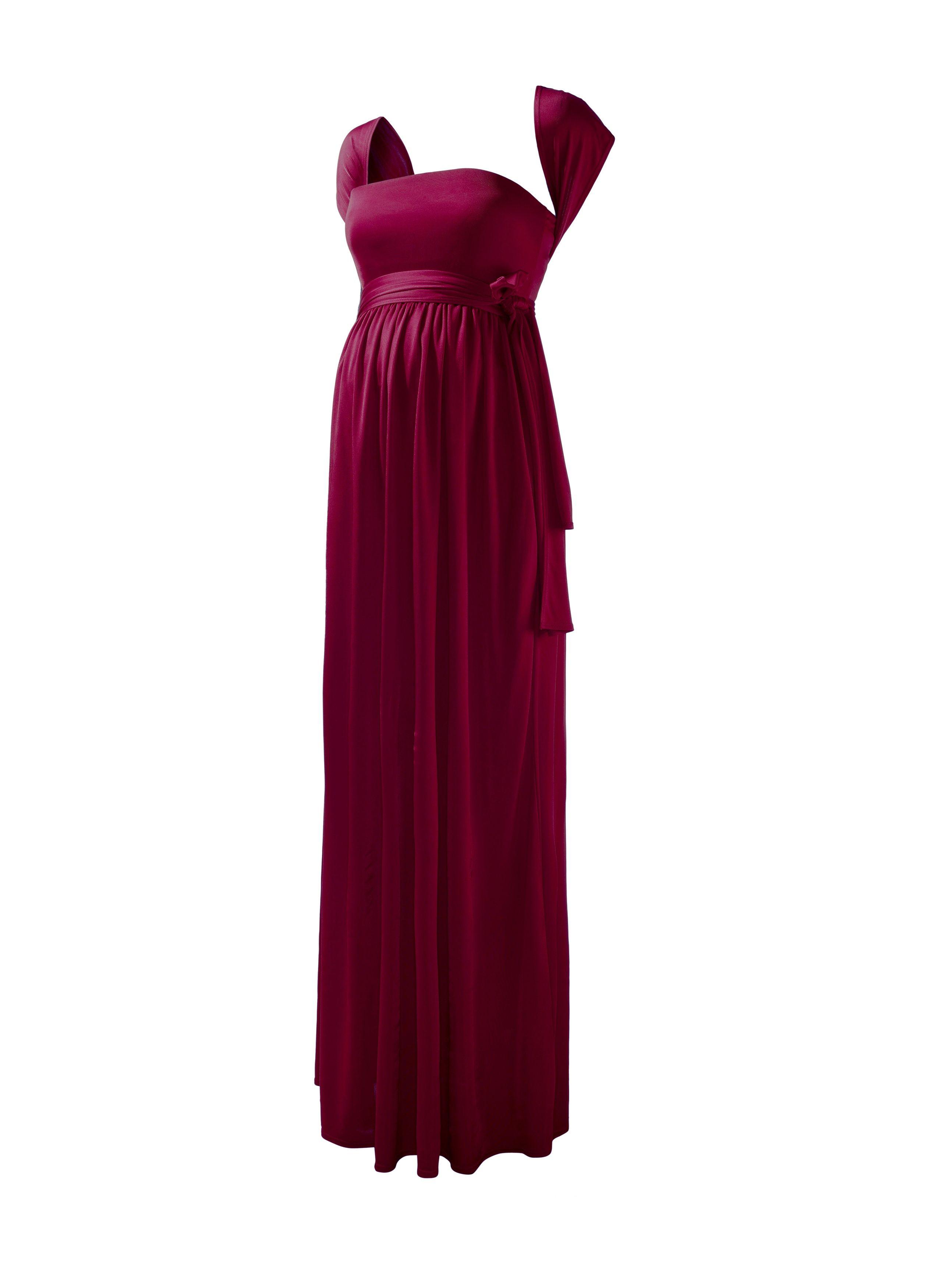 bb44cc430fe57 Isabella Oliver Wrap Maternity Maxi Dress -Red   Maternity Dresses ...