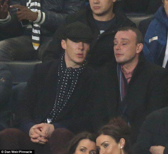 at the Champions League match (Chelsea vs FC Schalke) at Stamford Bridge on Wednesday, November 6, 2013. (638×587)