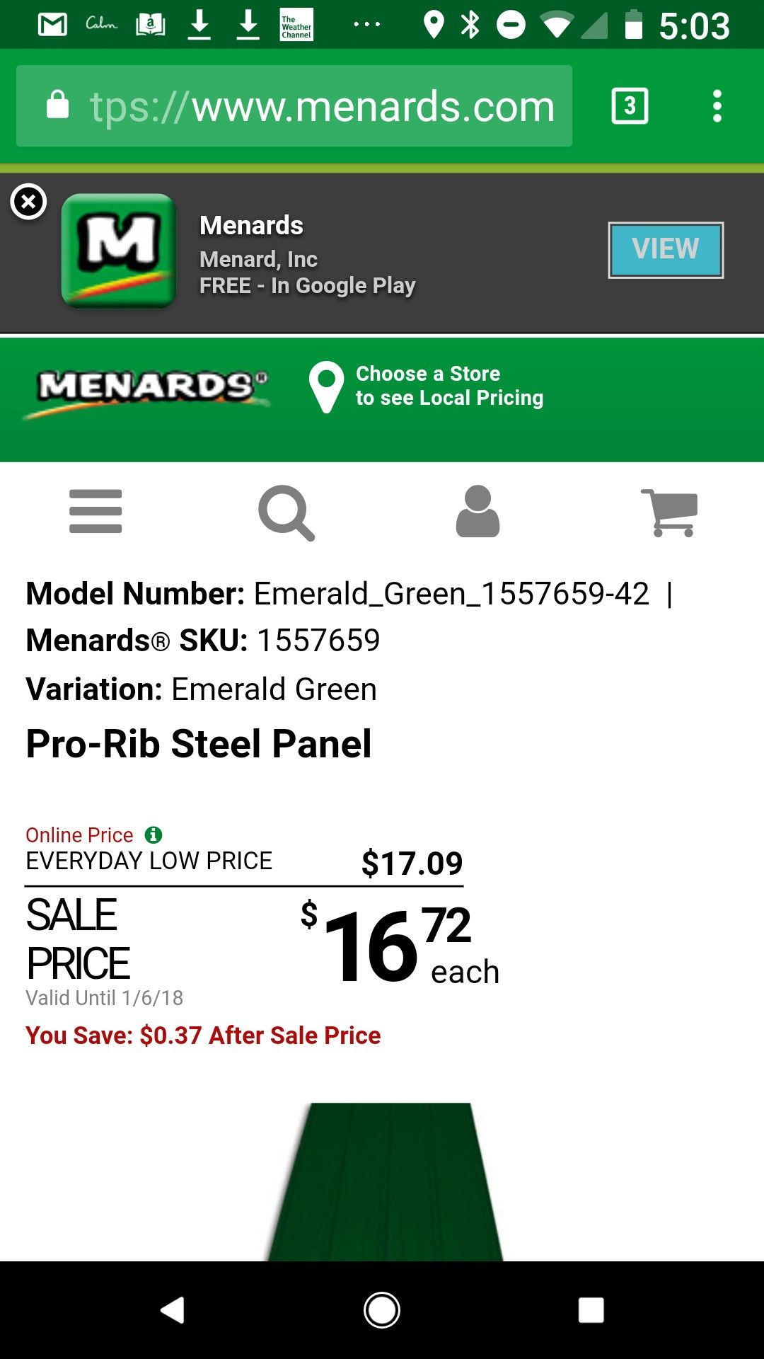 Pin By Scott Robertson On Barns Green Pro Price Model Menards