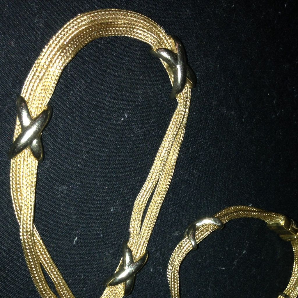 k gold very heavy neckless bracelet set products