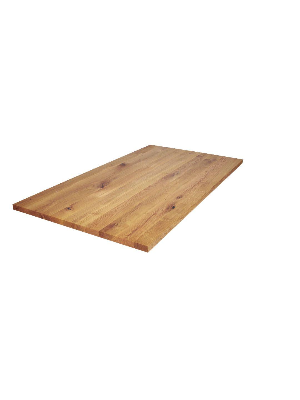 Tischplatte Asteiche Wildeiche Nach Mass Aus Der Manufaktur Eiche Massivholz Tischplatte Tischplatten