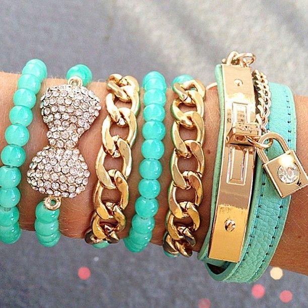 3 Cute Arm Candy Bracelets Love Fashion