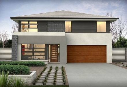 clarendon display homes glenlea 29 axis facade visit wwwlocalbuilderscom - Modern Display Homes