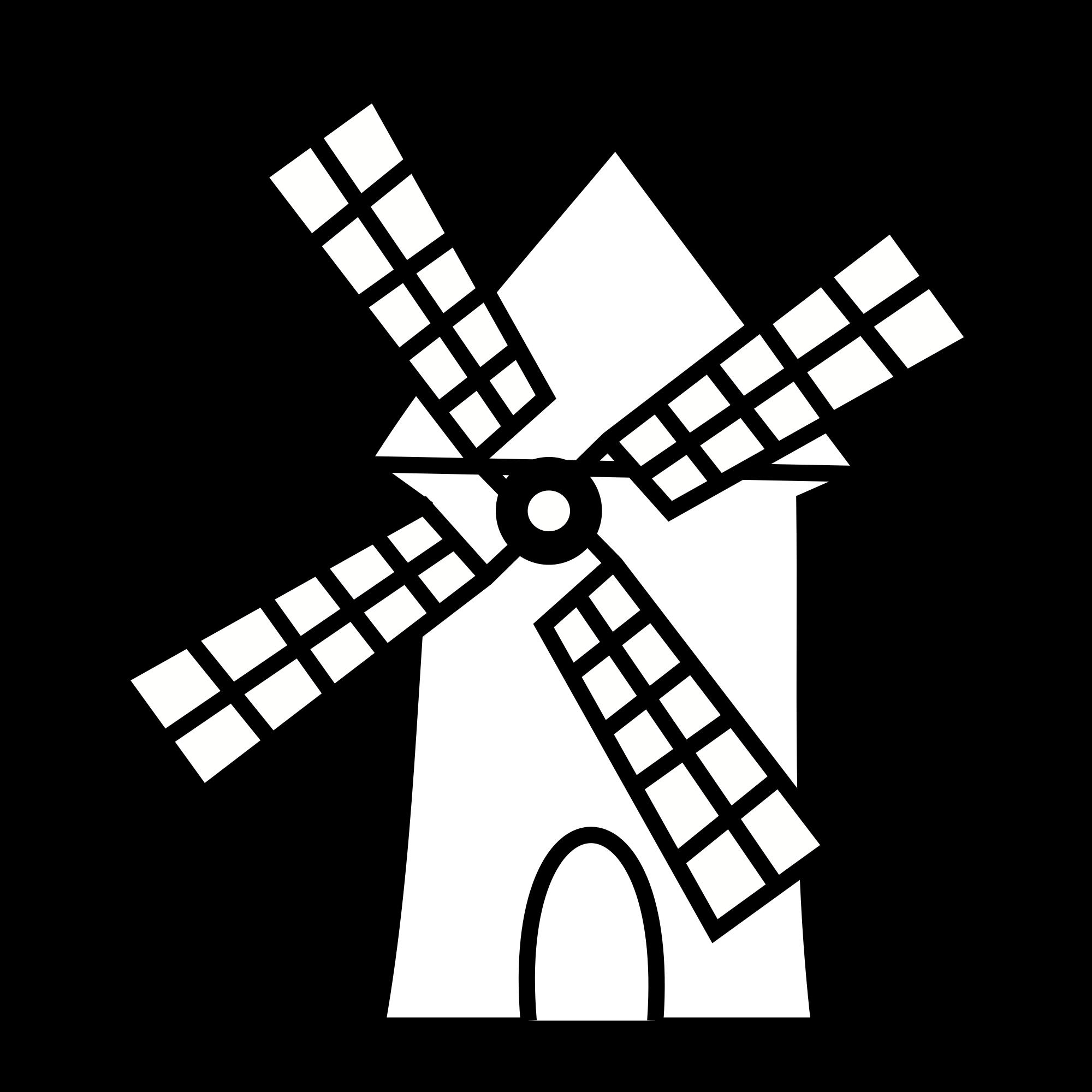 2000px Heraldique Meuble Moulin Svg Png 2000 2000 Molinos De Viento Viento Dibujo Don Quijote Dibujo