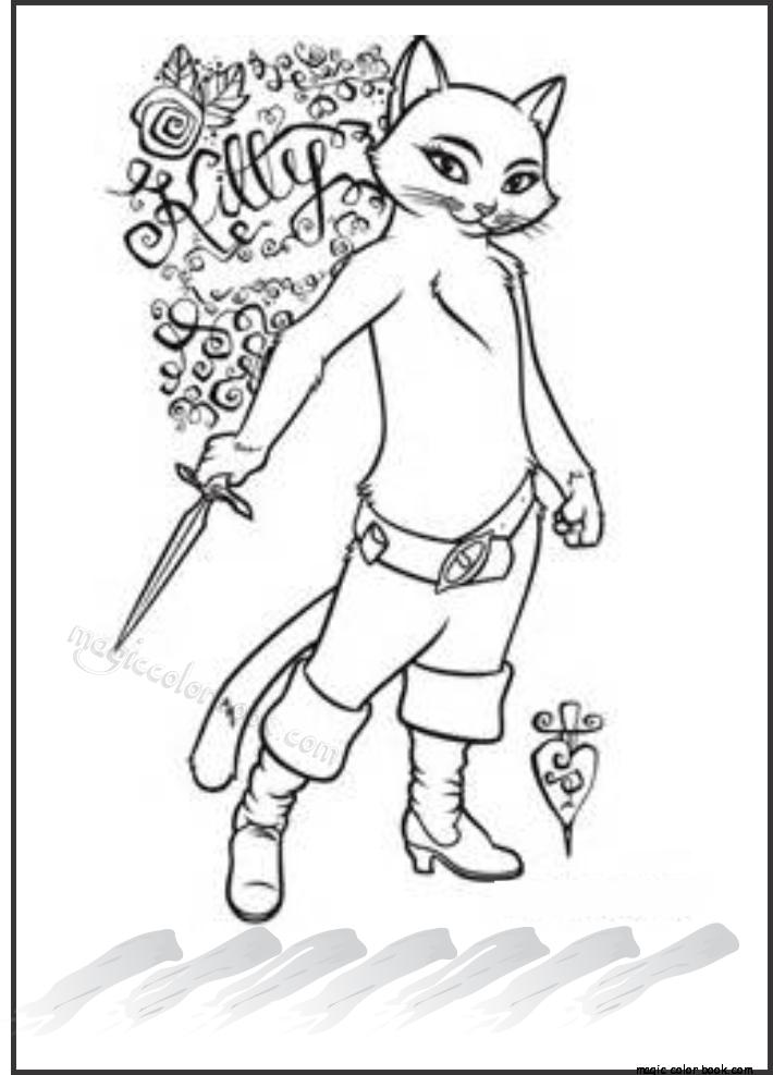 Pin de Magic Color Book en Shrek Coloring pages free online | Pinterest