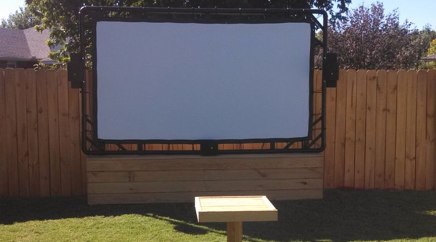 """""""I purchased this screen 2 years ago & it is holding up great. It has been outside 24/7/365 since I received it. The first year it was in Phoenix, AZ and for the past 13 months it has been in Oklahoma City. I know you don't sell these as permanent outdoor screens, but it has had no issues. Once in a while I hit it with the garden hose to clean it off, but that's it. You can see how well it has held up in this picture."""" —John H. 