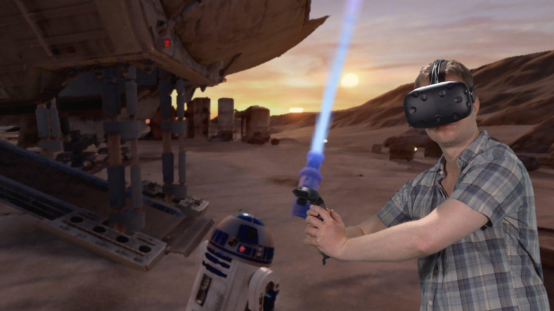 HTC Vive: Star Wars - Trials on Tatooine [PC Games Hardware]