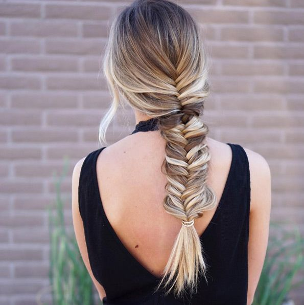 Simple braid undone by Maggiemh | Braids for short hair, Braids for long hair, Loose hairstyles