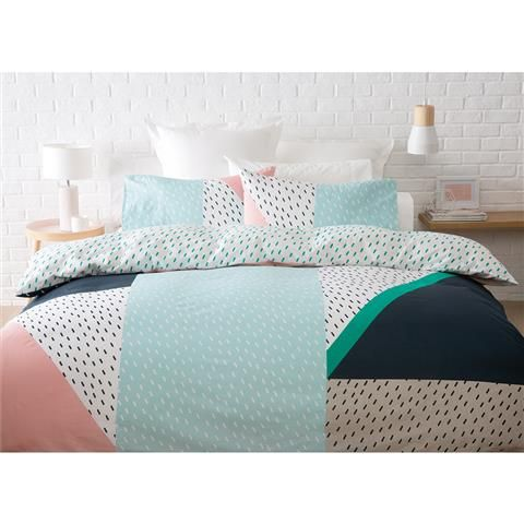 jagger quilt cover set queen bed kmart
