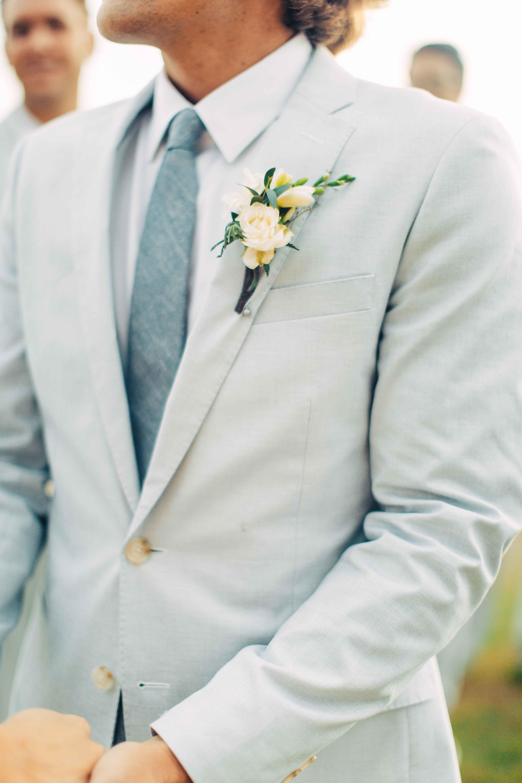 Elegant Simple Destination Wedding On The Beach In Mexico