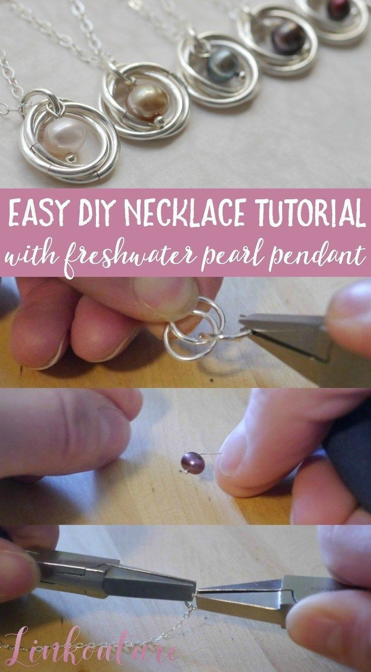 Photo of Super chic and feminine pearl necklace DIY tutorial – In this simple DIY …