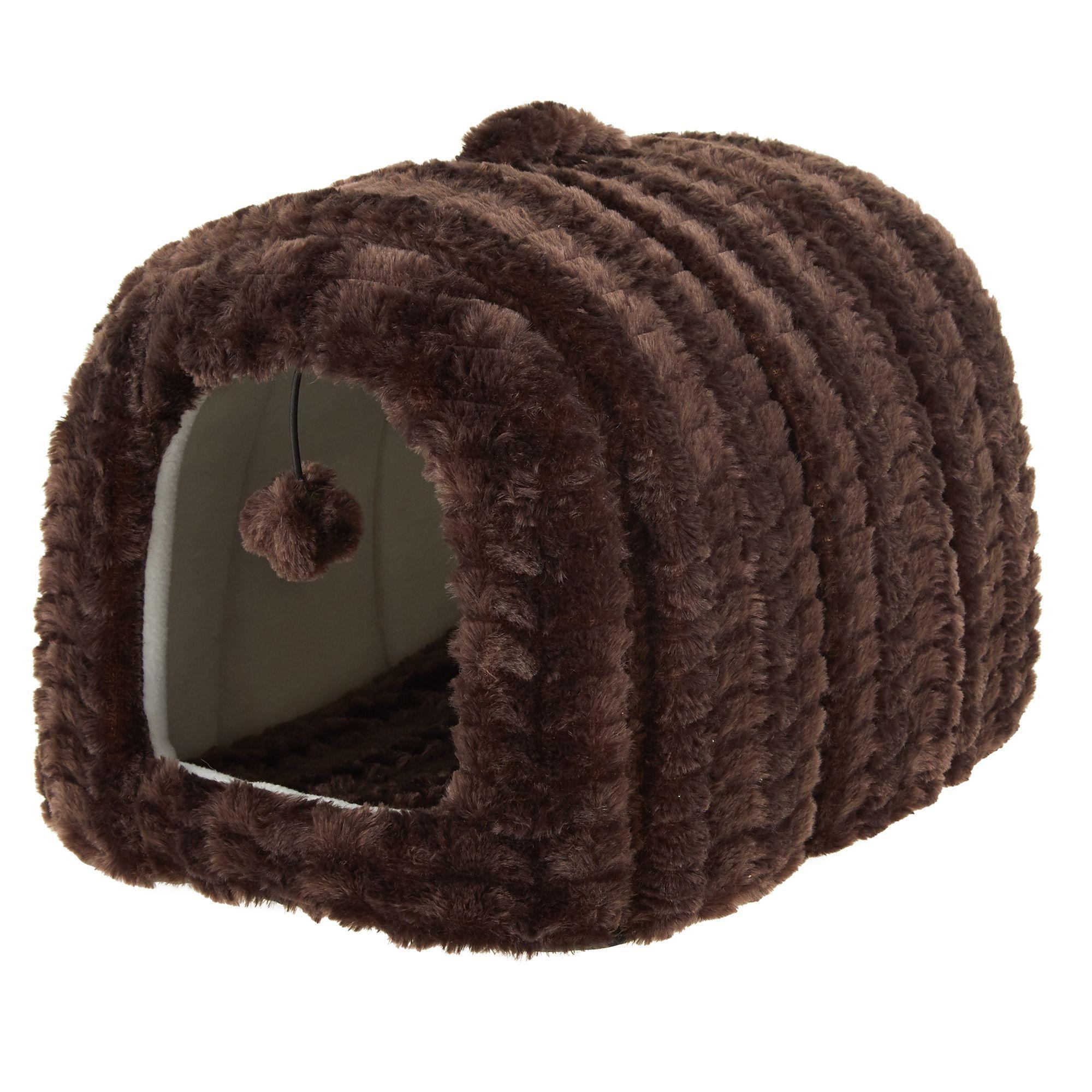 Whisker City® Cat Hide Hut Bed in 2020 Cat hiding, Cat