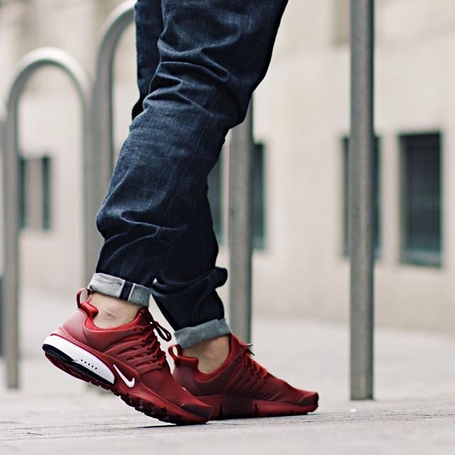 Nike Air Presto Utility Team Red Red Nike Shoes Nike Shoes Outfits Red Nike