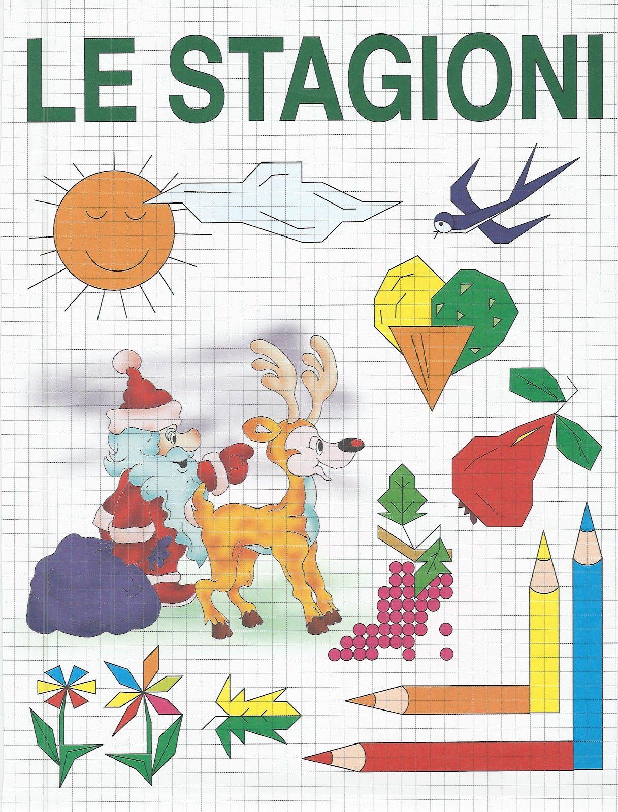Schede didattiche per la scuola primaria, giochi, disegni ...