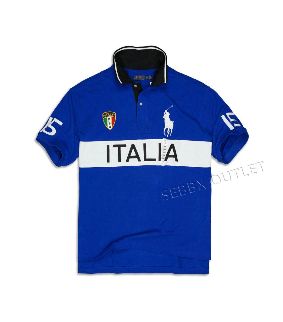 Polo Ralph Lauren Rugby Polo Shirt Big   Tall Royal Blue Italy ... d4817024f440