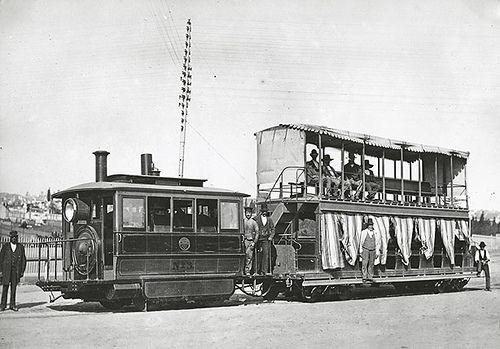 Steam Tram Steam Motor Sydney City Steam