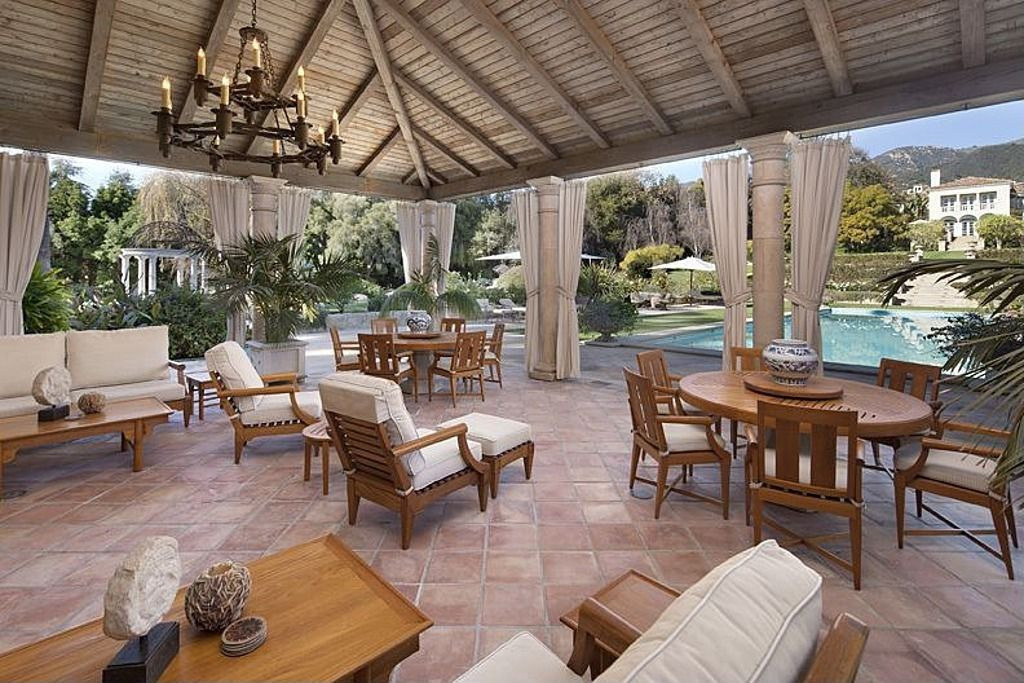 Furniture Outdoor Living Space Luxury Real Estate
