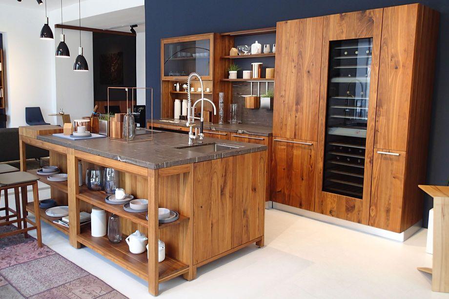 Preisgünstige TEAM 7 Küchen aus reinem Naturholz