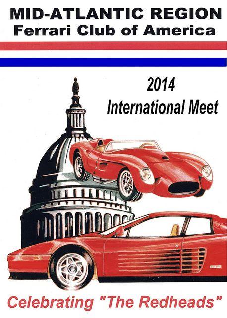 Ferrari Club Of America MAR Hosts Its 51st Meet Celebrating U0027The Redheadsu0027