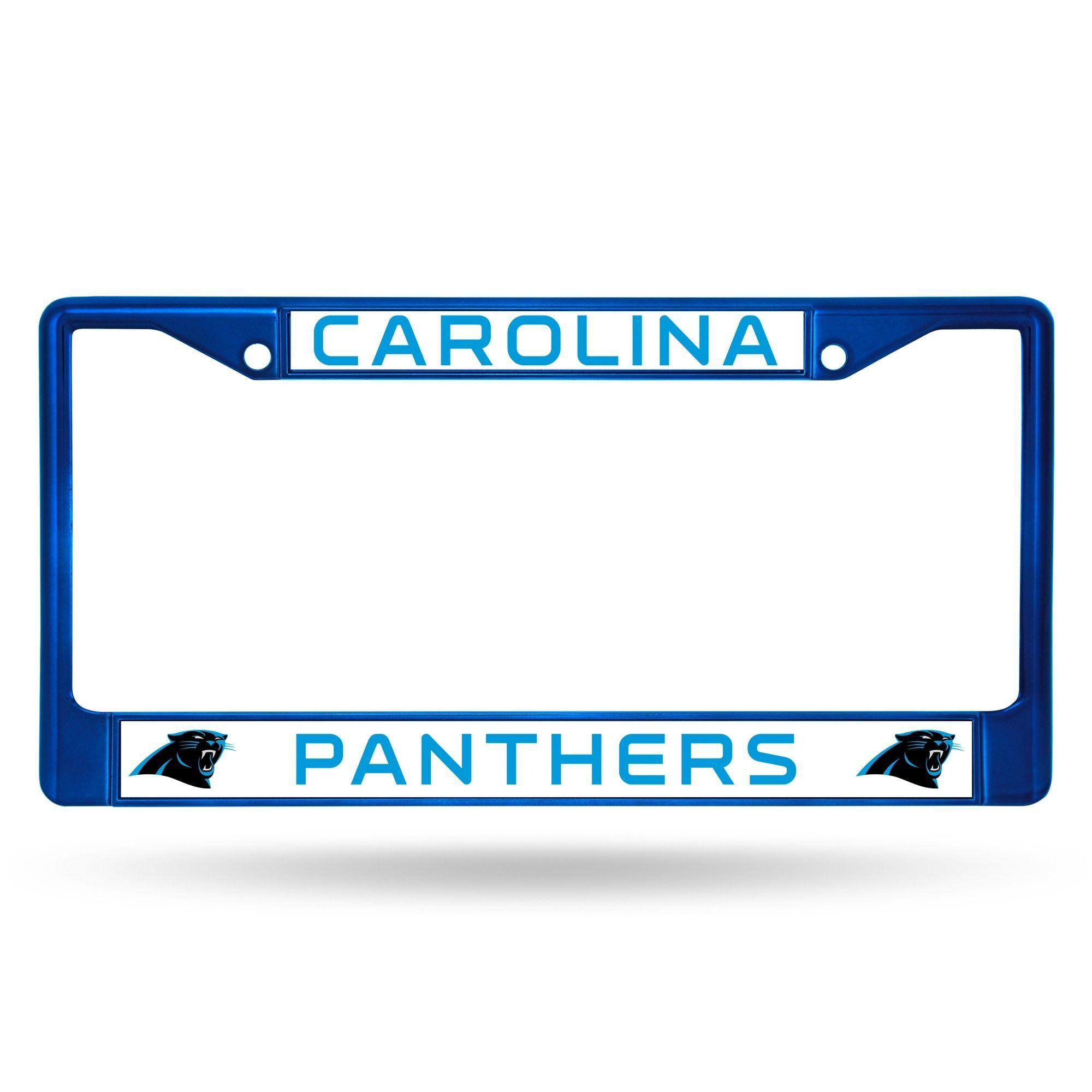 Rico Industries Carolina Panthers NFL Color License Plate Frame ...