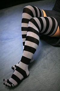 Sexy toe socks