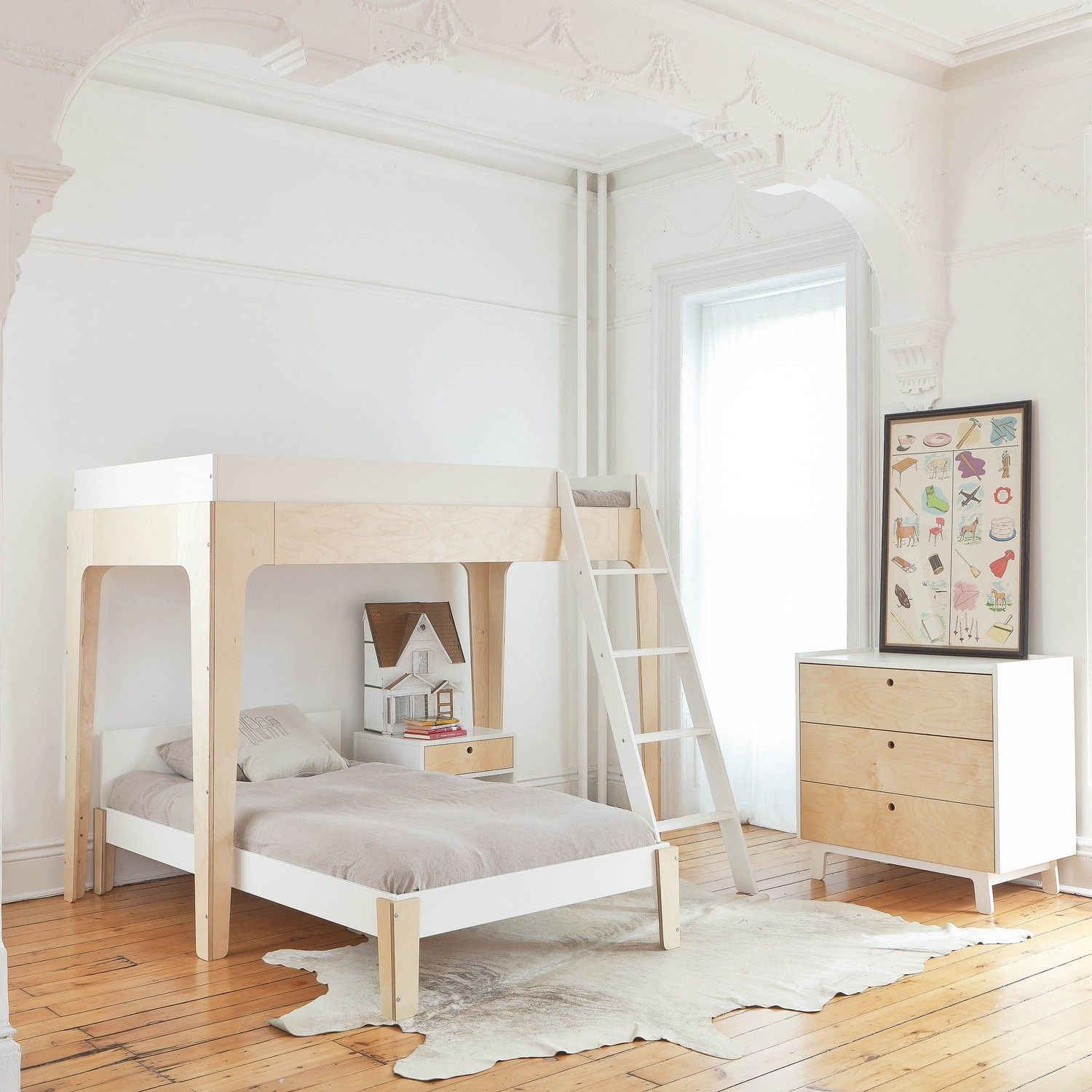 Bunk bed loft ideas  Decorating Ideas for a Modern Guest Room  Bunk bed Lofts and Twins