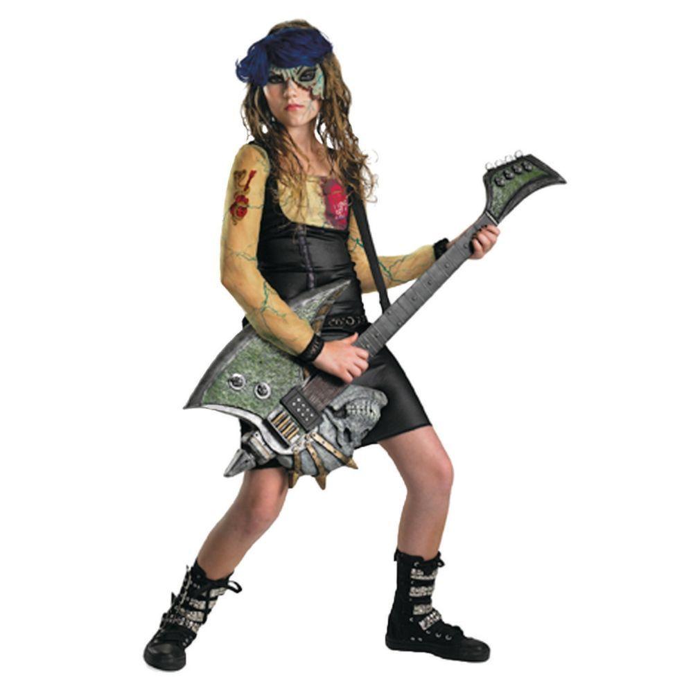 Heartbreak Rocker Girls Halloween Costume - Extra Large