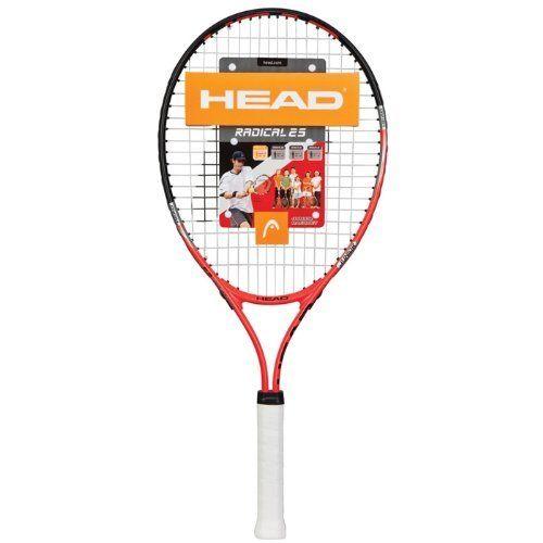 cca7569090c5c Head Radical Strung Tennis Racquet (25-Inch) by HEAD. $30.45. Amazon ...