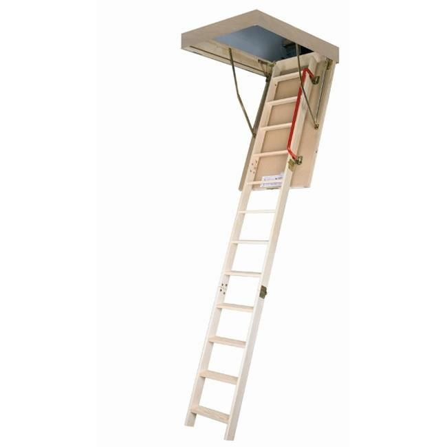 Best Fakro 66803 Lwp Wooden Insulated Attic Ladder 300Lbs 400 x 300