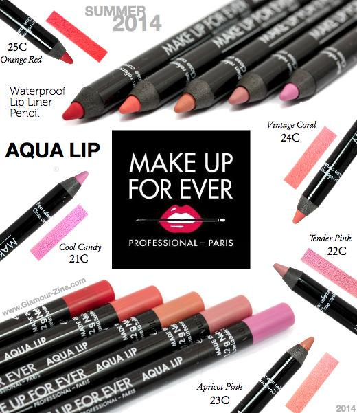 Aqua Lip Waterproof Liner Pencil