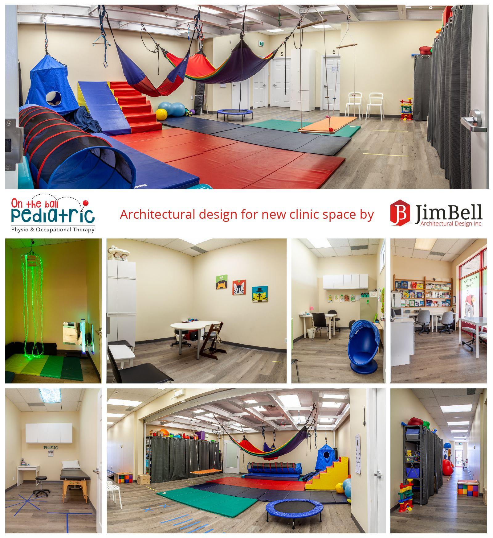 Architectural design for pediatric physio ot clinic in