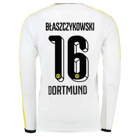 Gunstige Fussballtrikots Bvb Borussia Dortmund 15 16 Blaszczykowski Dritte Langarm Trikot Dortmund Manche Borussia Dortmund