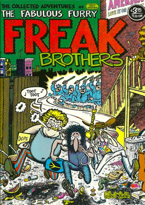 The Fabulous Furry Freak Brothers #1 by Gilbert Shelton (underground comics)