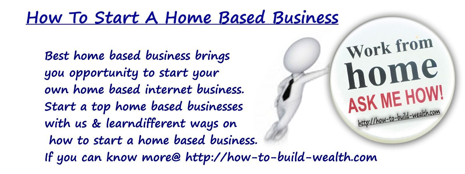 How to start a home based business Best home based business brings ...