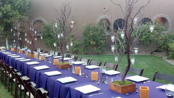 Loving The Trees With Hanging Candles Gallery Creative Hand - Kings table catering