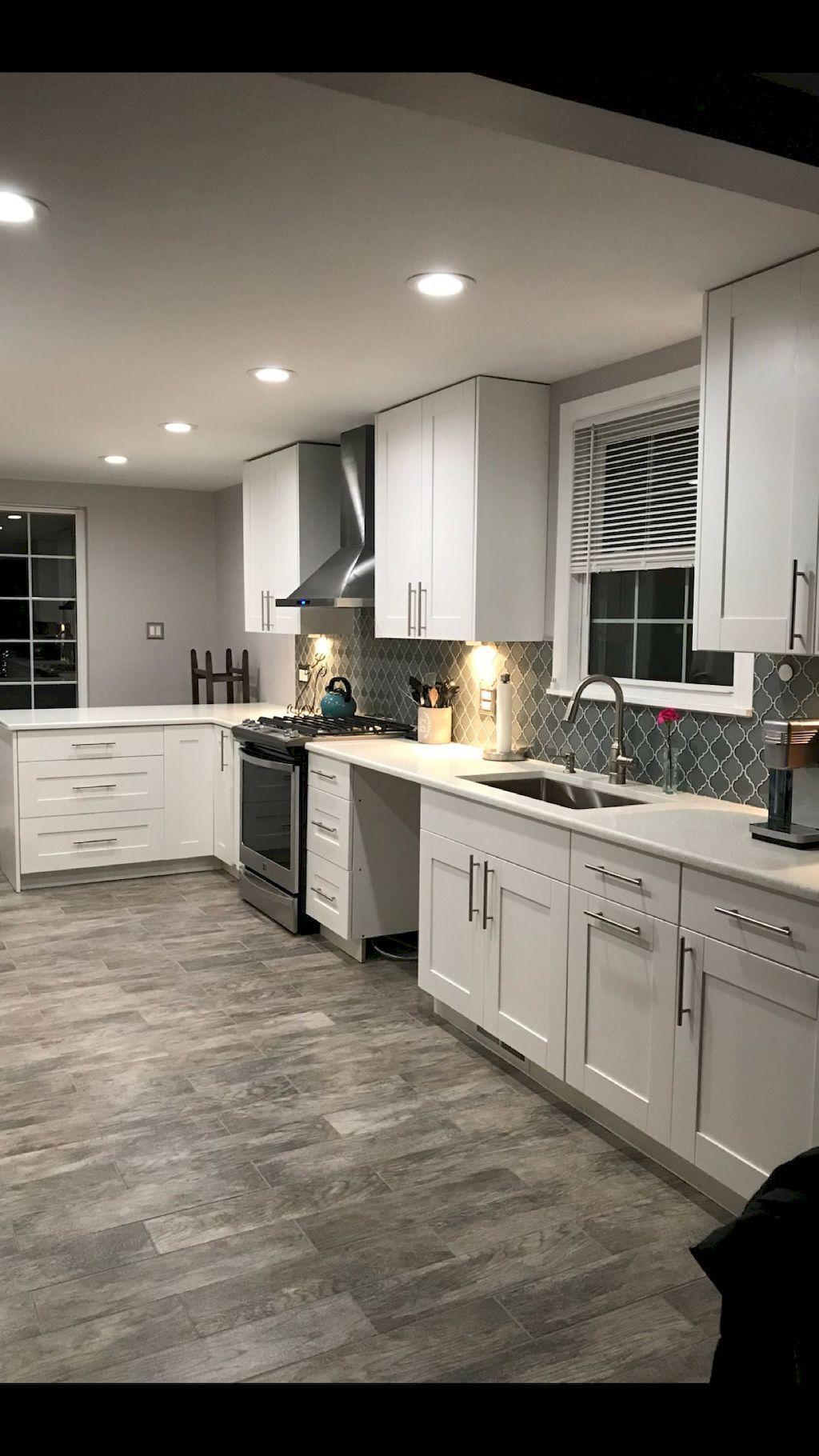 01 Farmhouse Kitchen Backsplash Design Ideas in 2020 ...