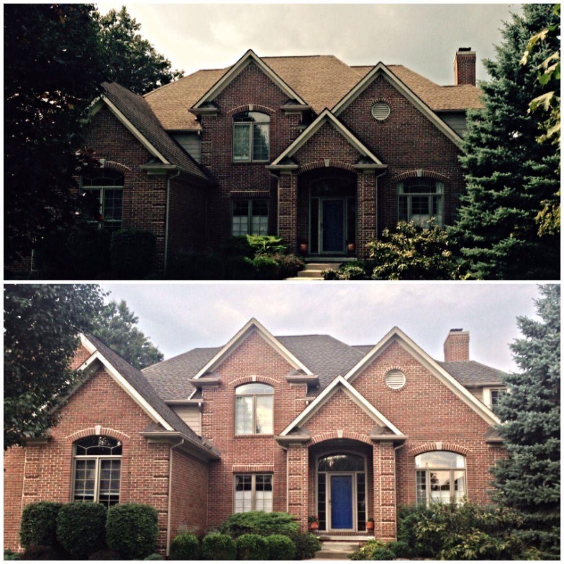 Best Here S Another Roof We Replaced In Clarkston Mi Using New 400 x 300