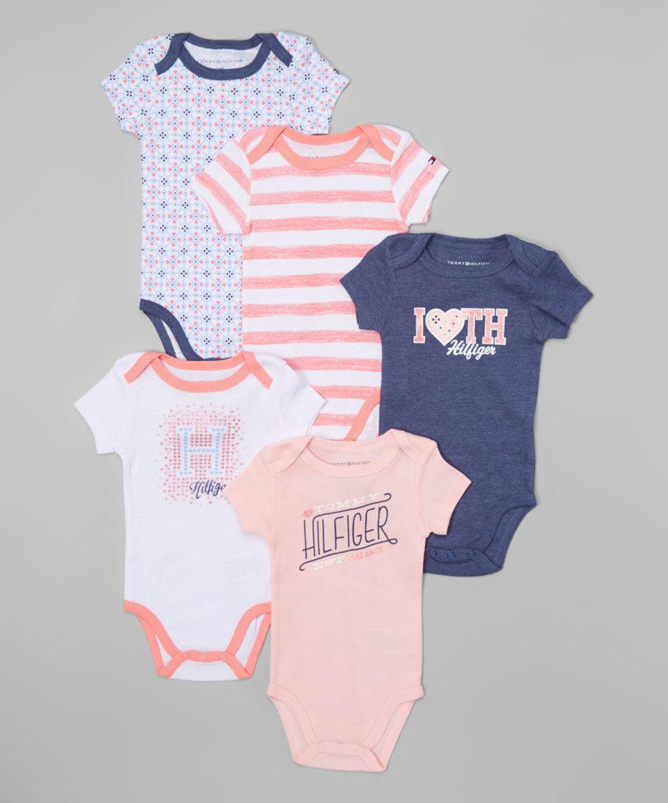 8827a31c2 Tommy Hilfiger Assorted Bodysuit Set - Infant by Tommy Hilfiger #zulilyfinds