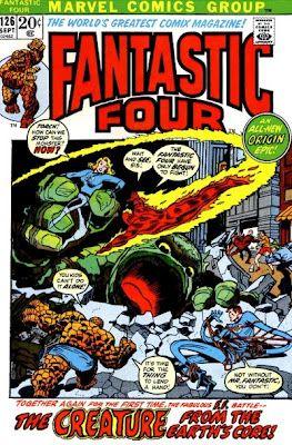 Fantastic Four #126. That monster's back.  #FantasticFour