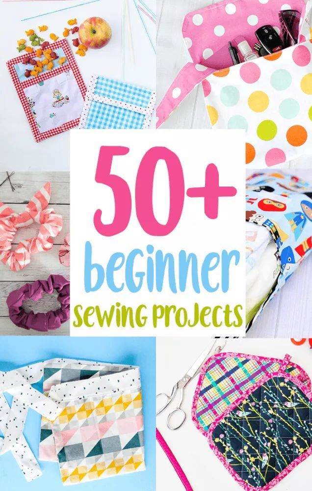 50+ Beginner Sewing Projects To Make Now! - Coral + Co.