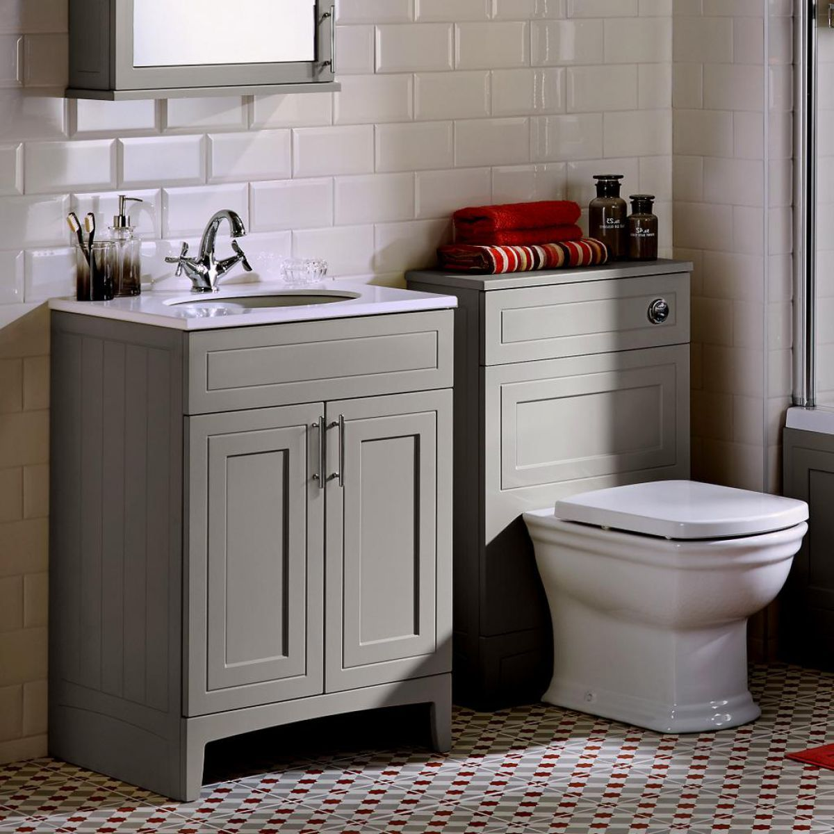 Noble Classic Extra Deep Vanity Unit with Worktop and