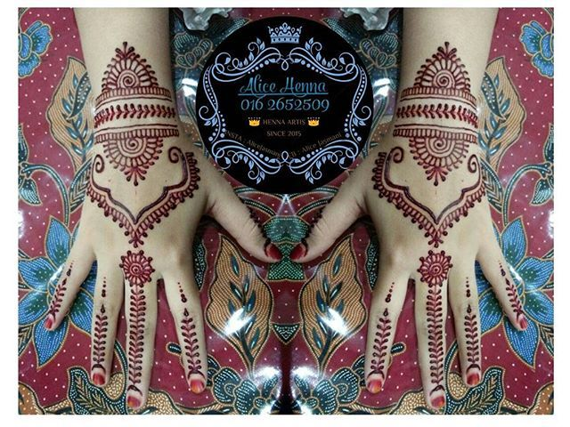 Alice Henna Artist Services cover area : 1.MERU 2.PUNCAK ALAM 3 ...