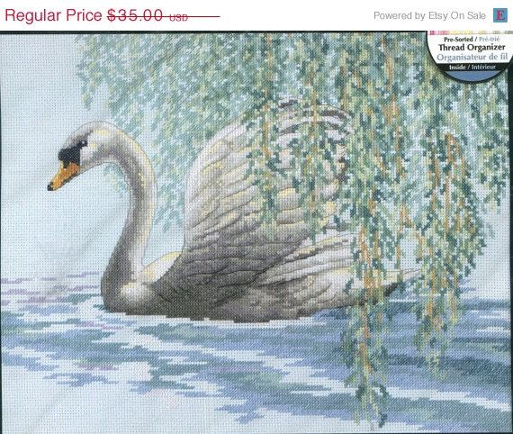 Embroidery Kit All About Geese 14 x 11