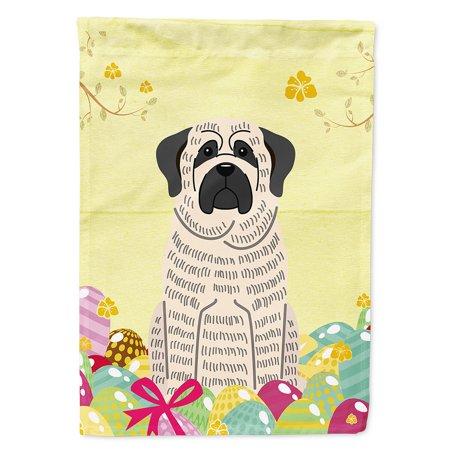 Seasonal White flag, Brindle mastiff, Flag decor