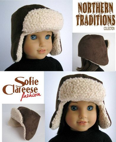 brwn_suede_hat_72_pp_large.jpg (392×480) 18 in doll bomber hat